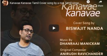 Kanavae Kanavae Tamil Cover song by a non Tamil singer!